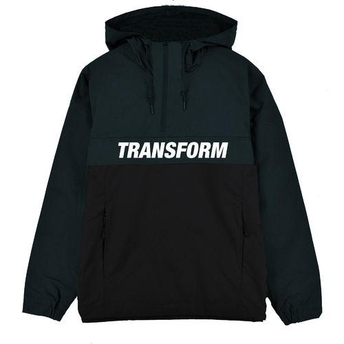 Transform Gloves The Fast Text Windbreaker Army Green/Vader Black