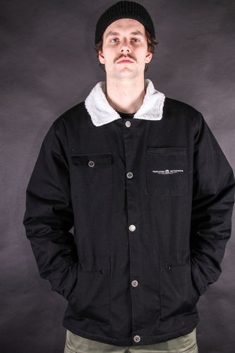 Gas Station Jacket Black