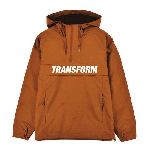Transform Gloves The Fast Text Windbreaker Orange